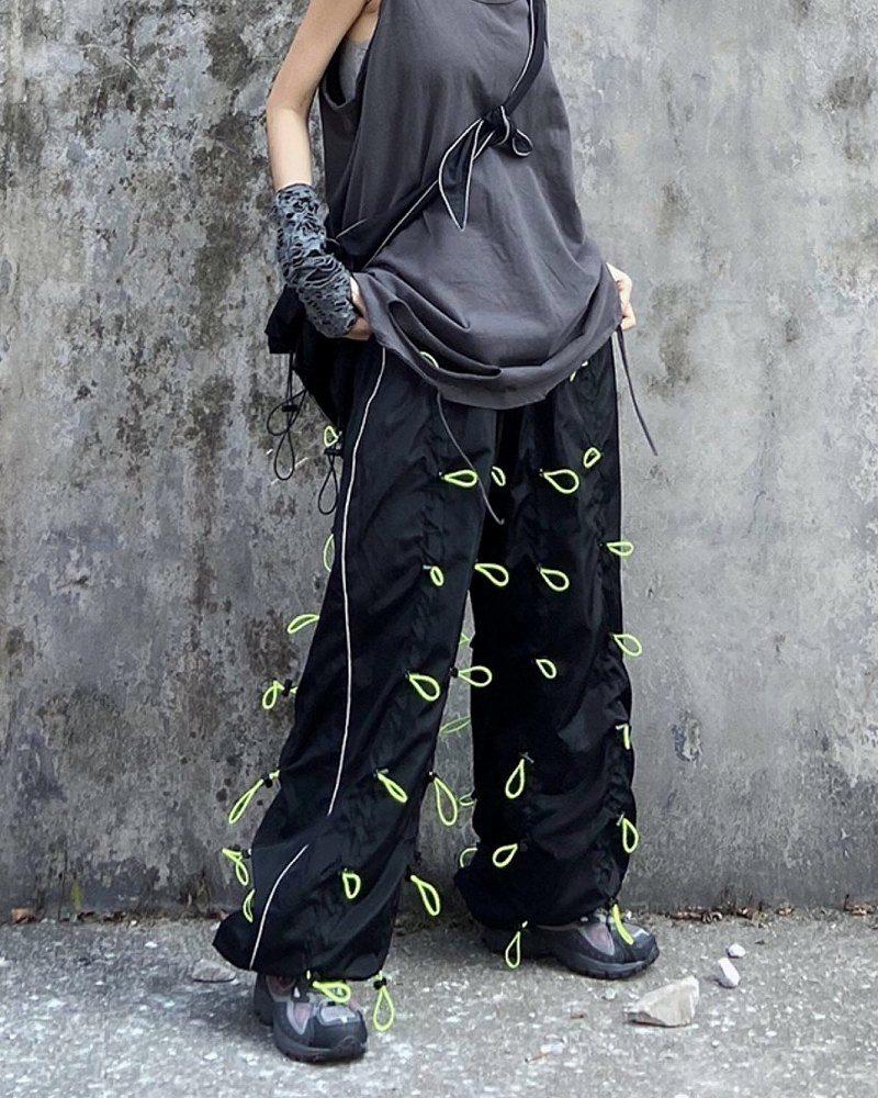 《2色》ブラックバンジーパンツの画像7